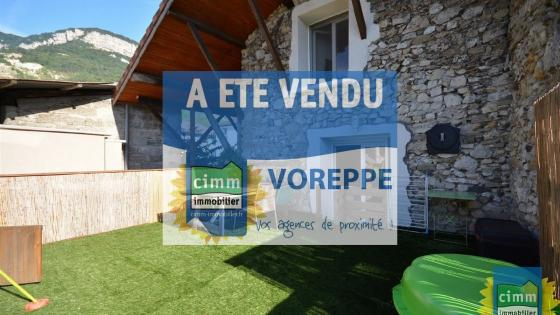 Voreppe, 4 P de  89 m² avec terrasse