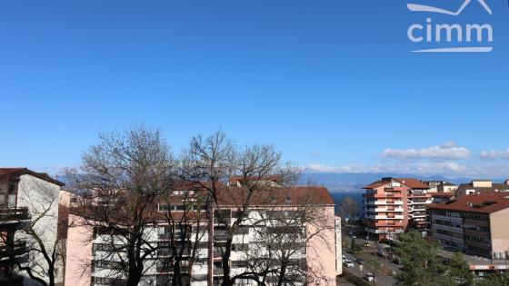 Grand Appartement T5 de 104m² avec Parking au centre de Thonon