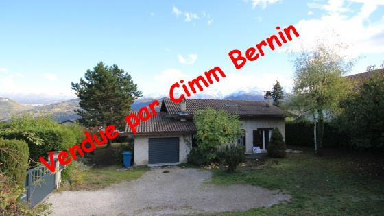 Bernin - Maison 4 chambres sur grand terrain
