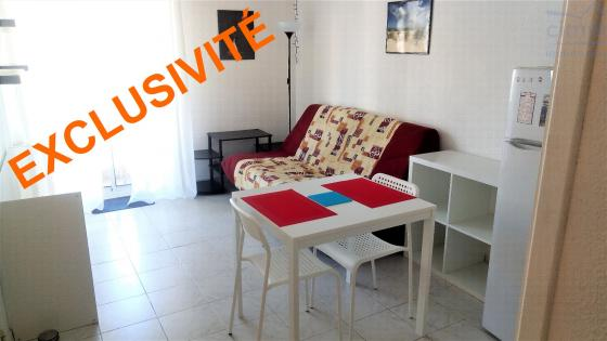 Exclusivité Nice Carlone Studio meublé 20,36 m²