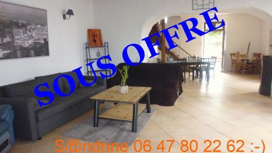 MAISON T5 A VENDRE 38680 SAINT JUST DE CLAIX 165000€