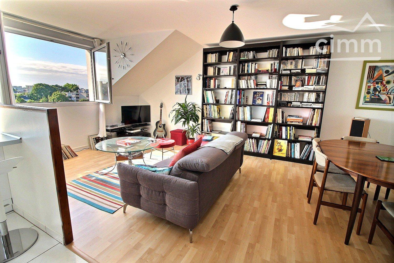 Hauteur Sous Plafond 2M40 nantes tortière - appartement lumière traversante 3 pièces