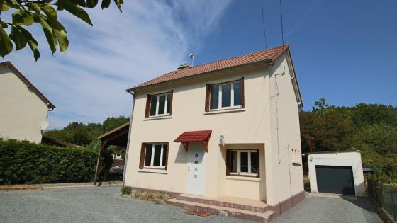 Maison T4 de 80m² avec jardin dans la commune de Soye en Septaine