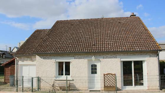A vendre maison de 80m² sur la commune de Moulins sur Yevre