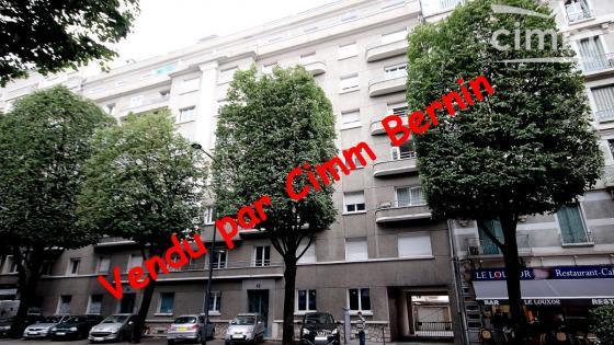 Grenoble grands boulevards - Grand appartement de 92m2 à rénover