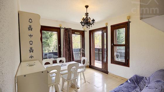 A VENDRE LES CARROZ D'ARACHES 74300 APPARTEMENT DE 26,84M² + 1 CHAMBRE + BALCON