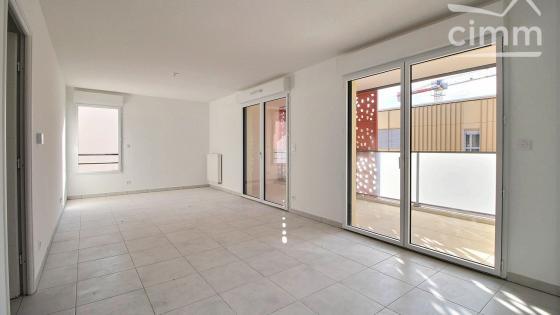 AVANT PREMIERE, A louer Ovalie T3 NEUF 65m² R+2 terrasse 12m² et parking en sous-sol