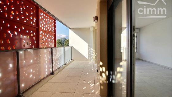 AVANT PREMIERE, A louer Ovalie T3 NEUF 66m² R+2 terrasse 12m² et double garage en sous-sol