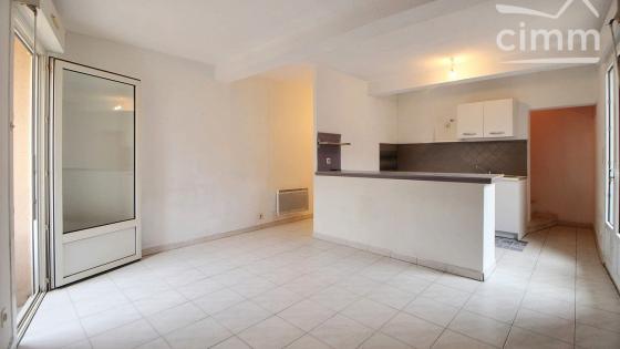 A LOUER, Villeneuve-Les-Maguelone coeur de ville, T3 duplex 60m², 2 chambres