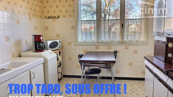 Chenôve, Appartement T5 avec cave et garage en sus possible