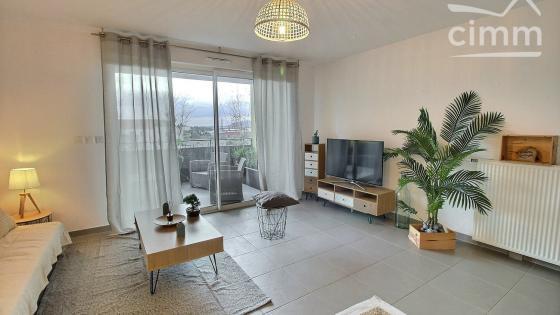 Montpellier, Les Grisettes, T3 de 61 m2 avec terrasse, garage et place de parking