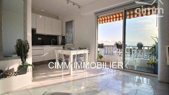 Nice Lenval appartement 2 pièces 41 m² vue mer