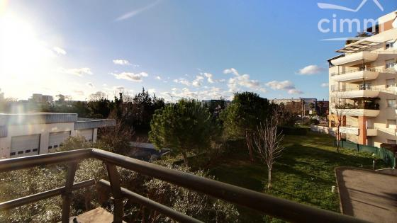 Montpellier, Ovalie - Grand M, T2 de 36 m2 avec terrasse et place de parking
