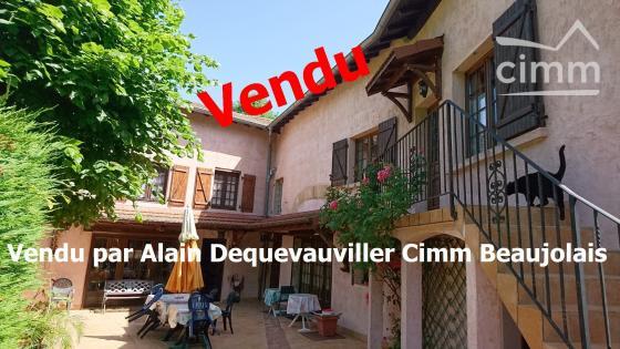 A VENDRE MAISON 4 CHAMBRES HAUT BEAUJOLAIS 69790 ST IGNY DE VERS