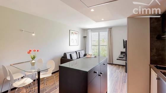 Proche GENEVE, Appartement T2 en résidence hôtelière pour investisseur LMNP