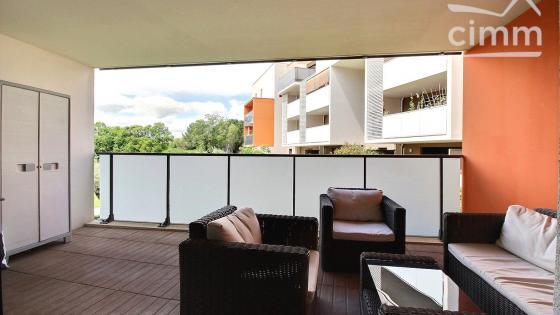 Montpellier, Ovalie, T3 de 67 m2 avec terrasse et parking
