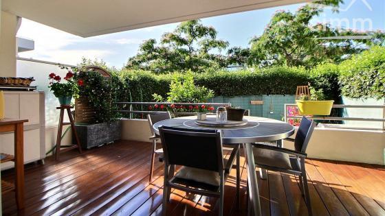 A vendre, Le Crès, T3 de 66 m² en rez-de-jardin avec terrasse, jardinet et parking