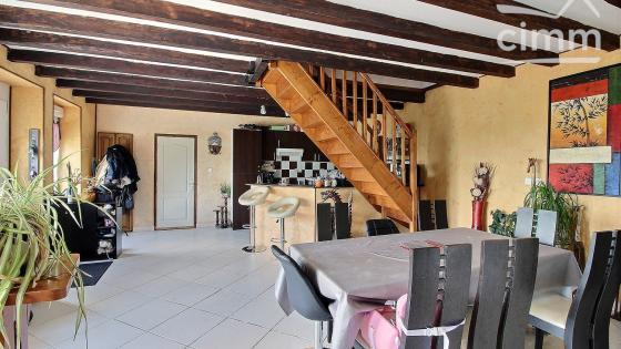 MONTCENIS, maison individuelle de 107 m² habitables