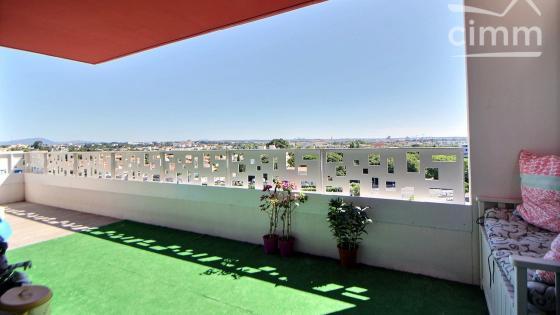 A vendre, Montpellier, Ovalie, T4 85 m² avec terrasse 18 m², double parking et cellier