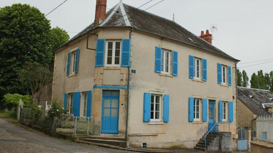 Maison de village, calme et très lumineux.