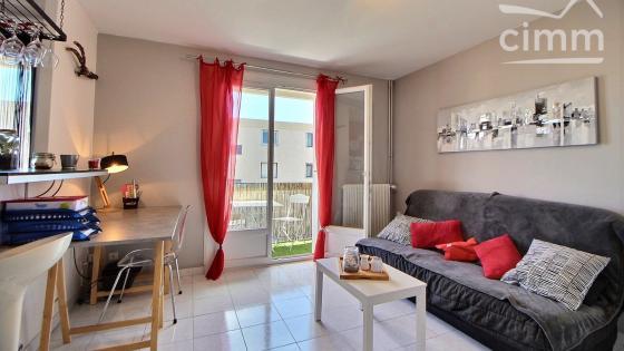 SUPERBE Studio T1bis meublé 30m² avec balcon et parking