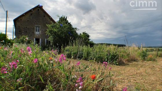 COLLONGE LA MADELEINE 71360, maison en pierre, 4 chambres