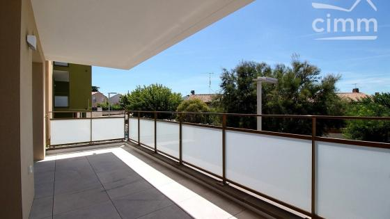 EXCLUSIVITE location St Jean de Vedas T2Grand  NEUF 46m² + loggia 13m² + parking