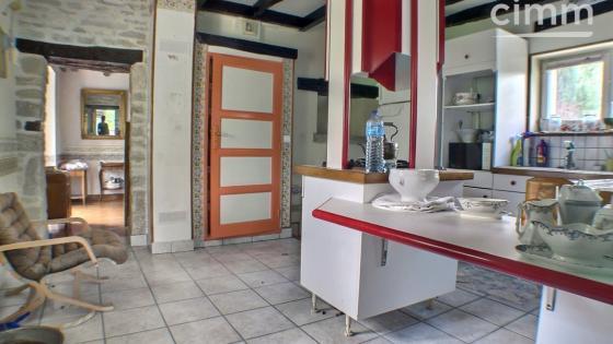 THOREY-SUR-OUCHE, maison en pierre, 2 chambres