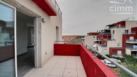 A LOUER, Montpellier, Celleneuve, Studio 30,80m², 2 balcons, 1 parking