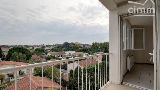 LOCATION Montpellier/La Chamberte T4 meublé 61m² avec clim + balcon + cave
