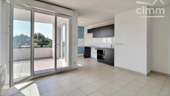 Montpellier, Ovalie, T3 61 m² avec terrasse et parking à vendre