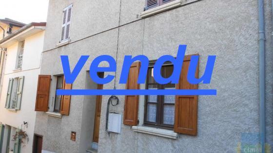VENTE MAISON DE VILLE 3 PIECES - 38210 - TULLINS