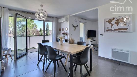 Prades-le-Lez, dernier étage, DUPLEX T4 70 m² avec 2 terrasses et de parking à vendre