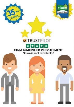 slide Trustpilot Cimm Immobilier